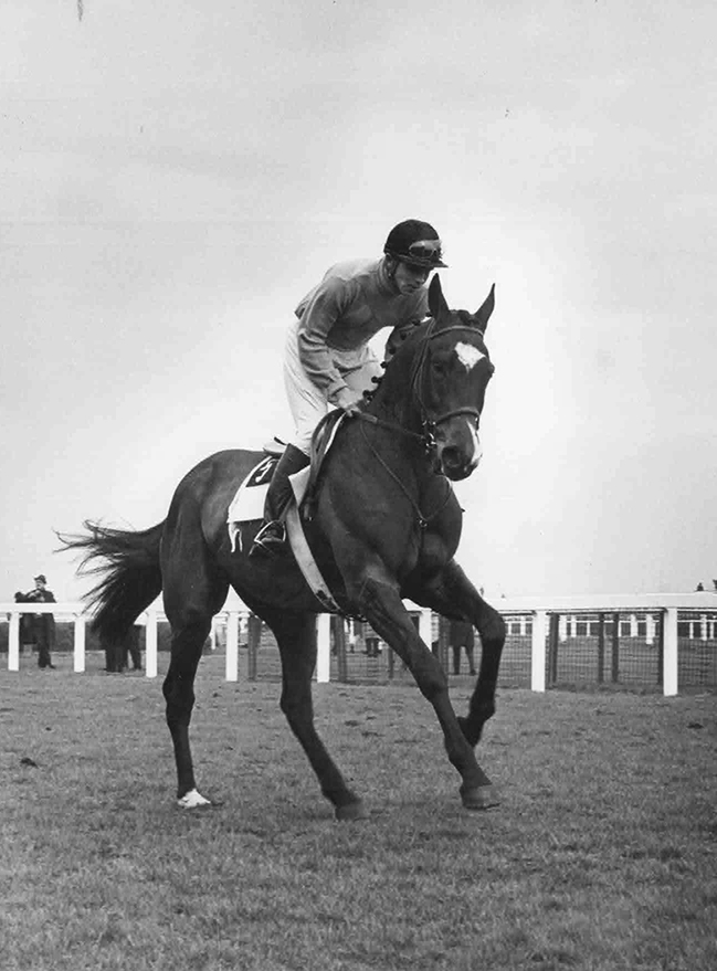 Going to the post for the 1965 Grand National at Aintree